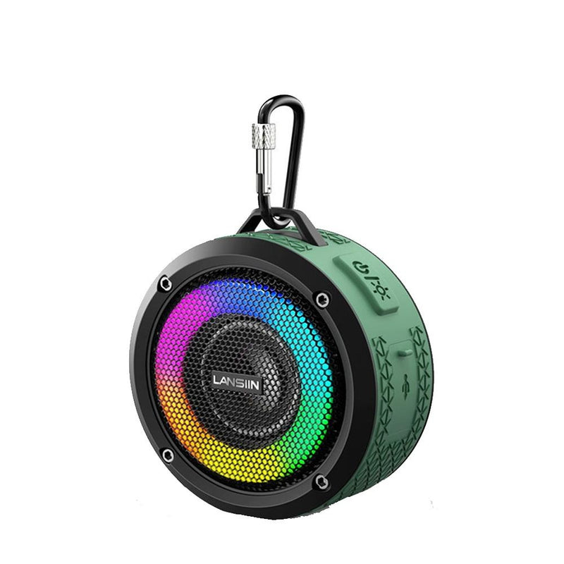 Waterproof Wireless Bluetooth Speaker with LED Lights_12