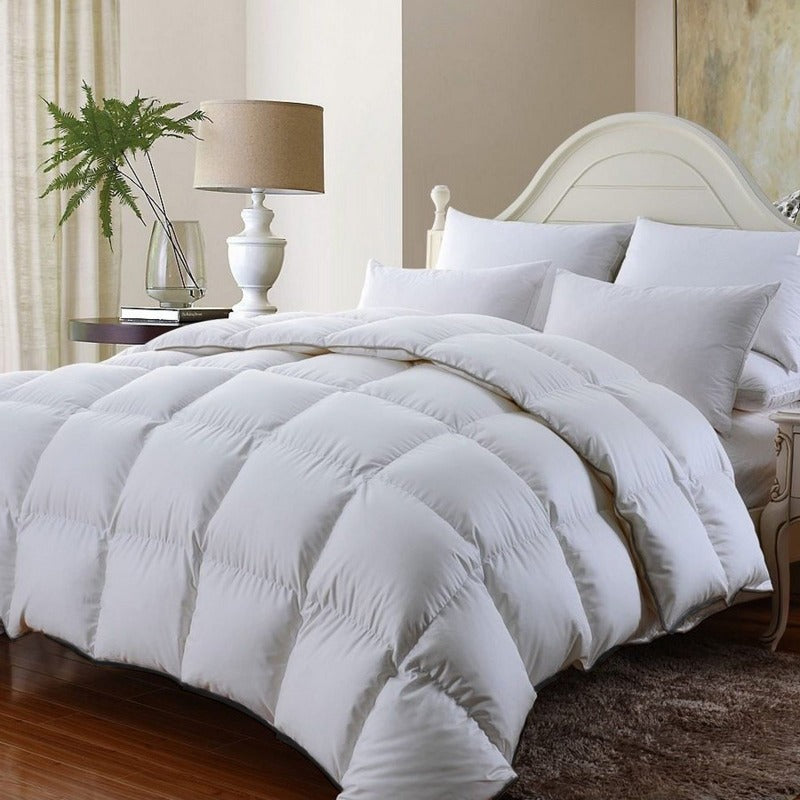 Royal Comfort 350GSM Luxury Soft Bamboo All-Seasons Quilt Duvet Doona - King