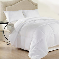 Royal Comfort 500GSM Plush Duck Feather Down Quilt Ultra Warm Soft - All Seasons - Super King - White