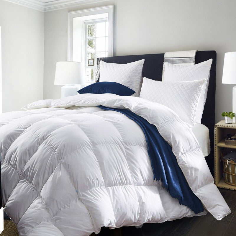 Royal Comfort Quilt 50% Goose Feather 50% Down - Single