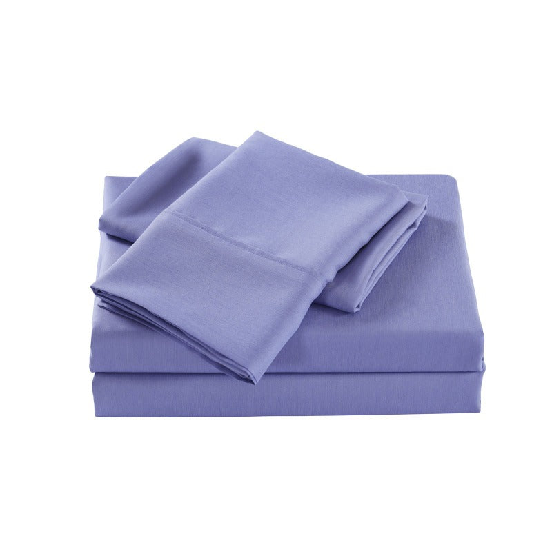 Royal Comfort 2000 Thread Count Bamboo Cooling Sheet Set Ultra Soft Bedding - Double - Mid Blue