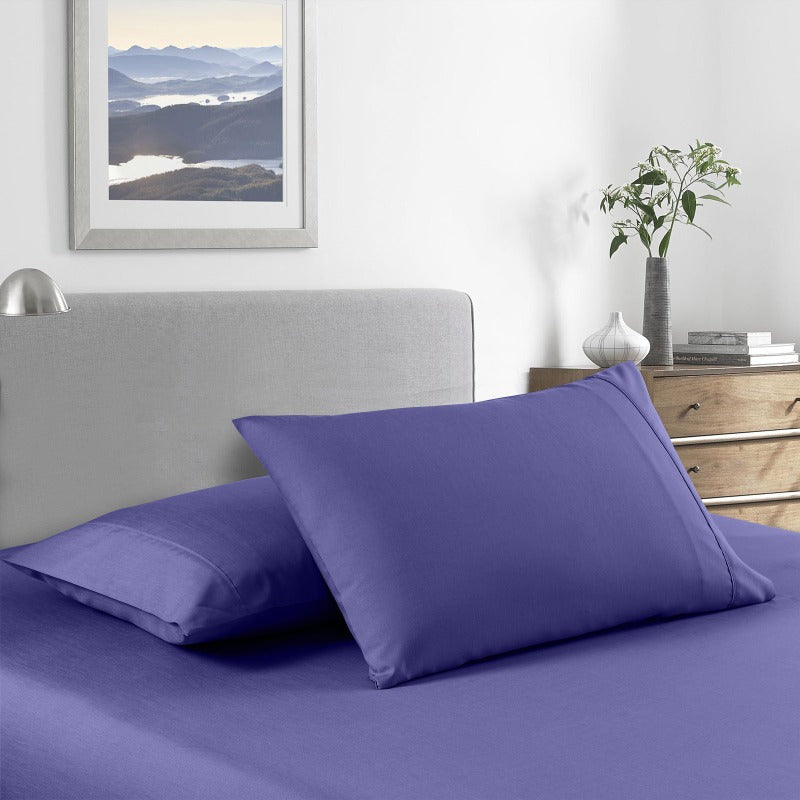 Royal Comfort 2000 Thread Count Bamboo Cooling Sheet Set Ultra Soft Bedding - Queen - Royal Blue