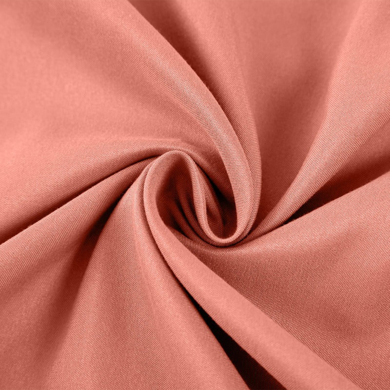 Royal Comfort 2000 Thread Count Bamboo Cooling Sheet Set Ultra Soft Bedding - King Single - Peach