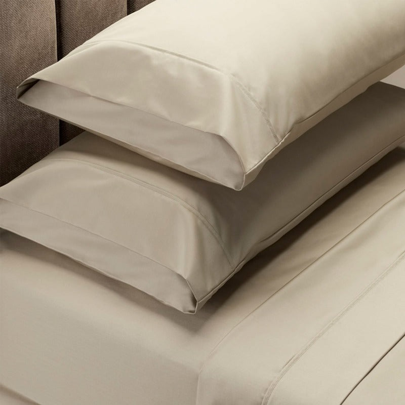 Royal Comfort 1000 Thread Count Sheet Set Cotton Blend Ultra Soft Touch Bedding - Queen - Pebble