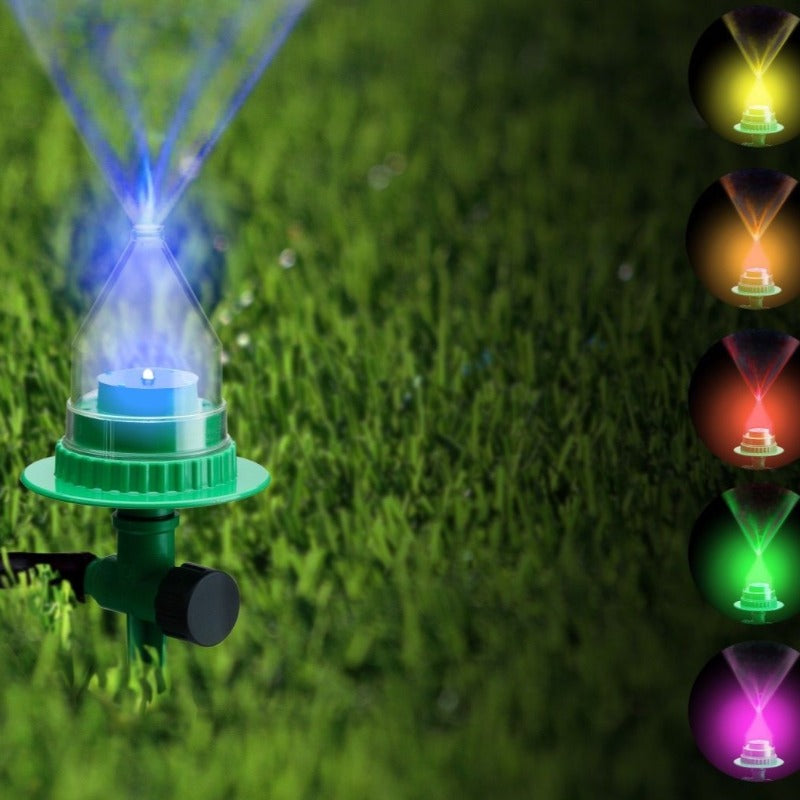 Durable and Extremely Cool Led Water Sprinkler Perfect for Gardens and Lawns