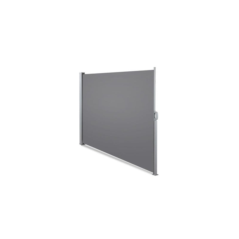Instahut Retractable Side Awning Shade 2 x 3m - Grey