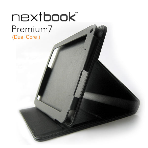 Stand Case for Nextbook Premium7 Tablets 727KC (Dual Core) - Black