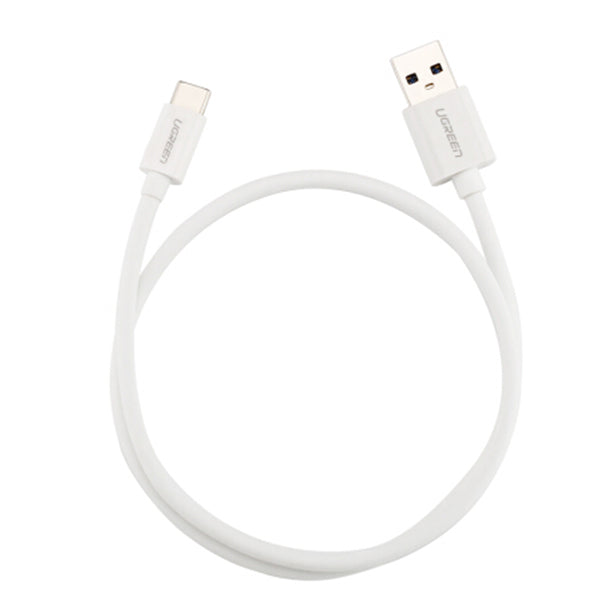 UGREEN USB Type-C to USB3.0 Cable - White 2M (30625)