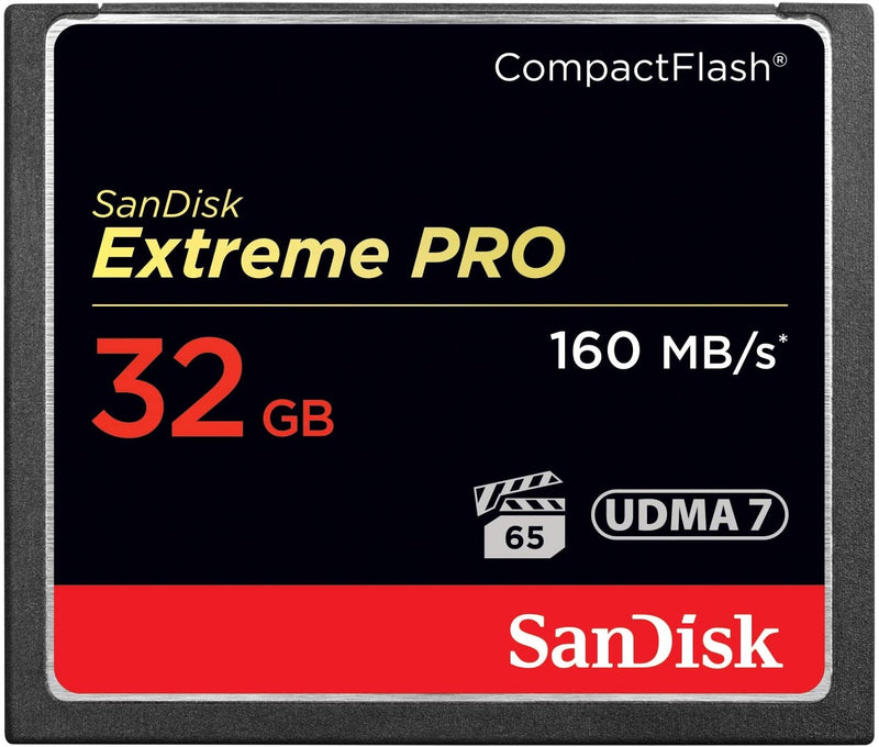 SanDisk Extreme Pro CFXP 32GB CompactFlash 160MB/s (SDCFXPS-032G)