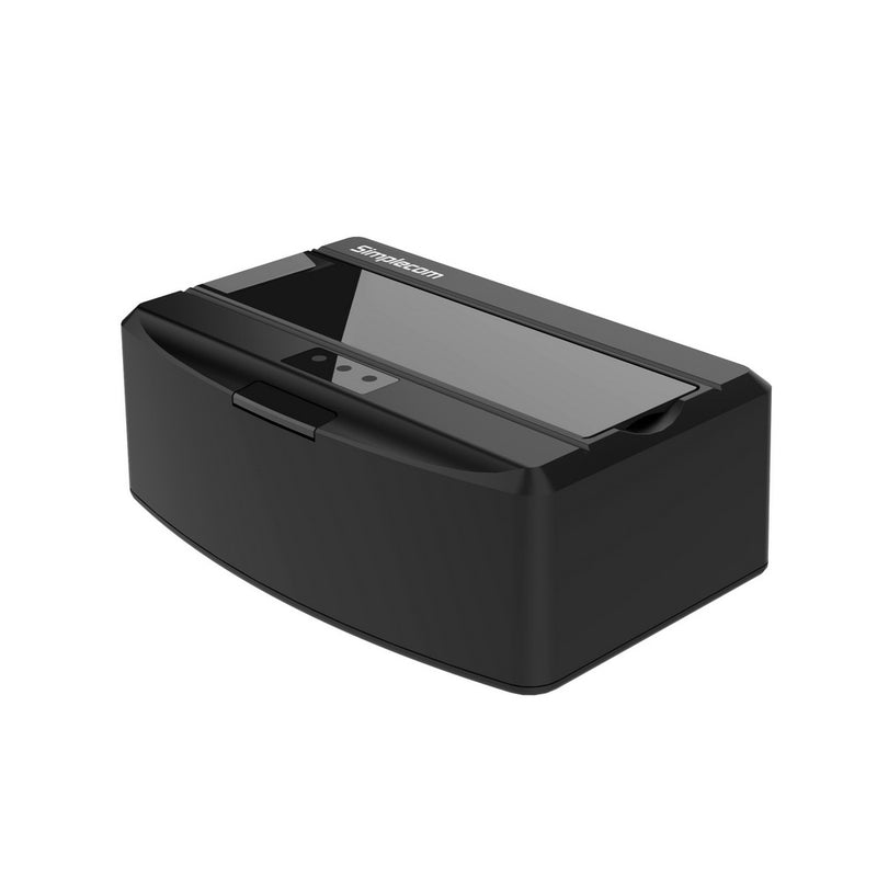 "Simplecom SD311 USB 3.0 Docking Station with Lid for 2.5"" and 3.5"" SATA Drive Black"