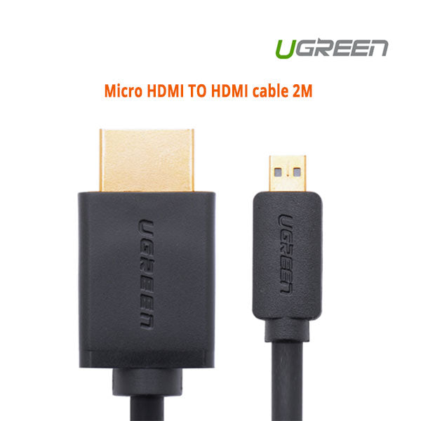 UGREEN Micro HDMI TO HDMI cable 2M (30103)