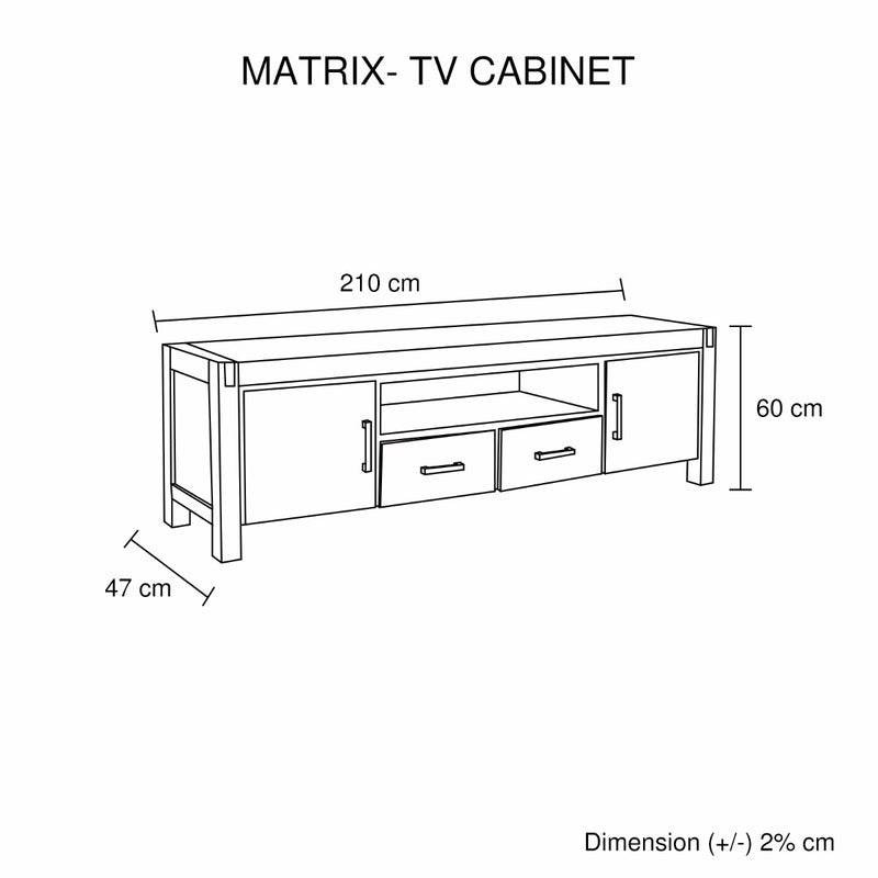 Matrix TV Cabinet