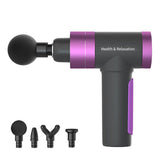 USB Smart Electric Massage Gun Purple