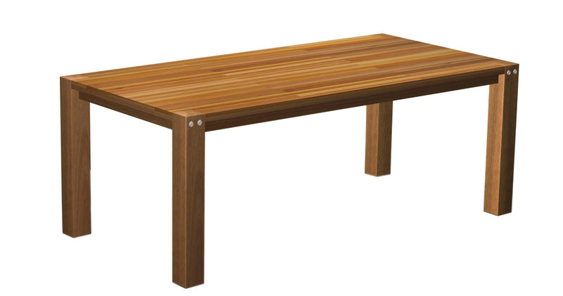 Sturdy 2 Metre Table Natural oil Finish