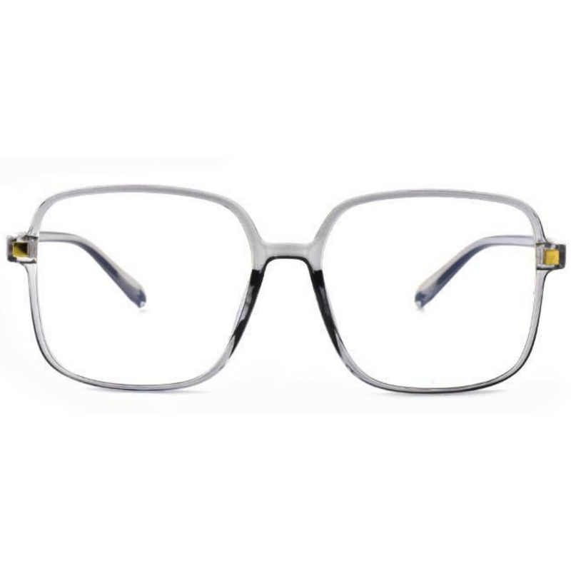 Blue Light Blocking Glasses, Large Frame Anti Eyestrain, Computer Reading  TV Glasses for Women Men