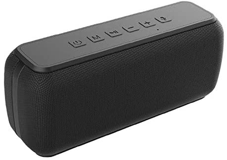 Bluetooth Speaker 60 watts V5.0 Shocking bass Sound TWS Waterproof 8 Hours Playtime Soundbar Home TheaterPortable Bluetooth Speaker Black - Madshot