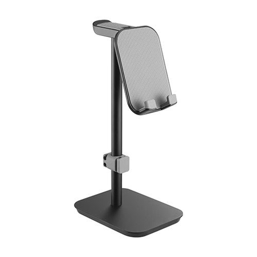 Aluminium Headphone Stand With Tiltable Phone Holder - Madshot