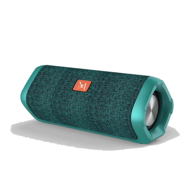 MDT Twin Boost-TWS Bluetooth 5.0 Speaker Stereo 18W |Dual Pairing |Waterproof With MicTWS Portable Speakers Green - Madshot