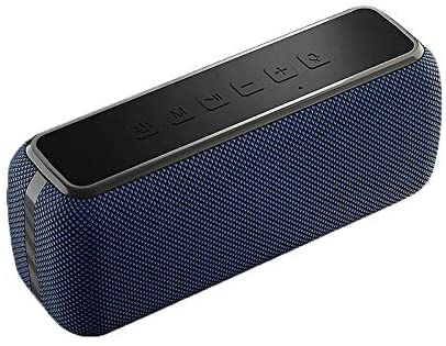 Bluetooth Speaker 60 watts V5.0 Shocking bass Sound TWS Waterproof 8 Hours Playtime Soundbar Home TheaterPortable Bluetooth Speaker Blue - Madshot