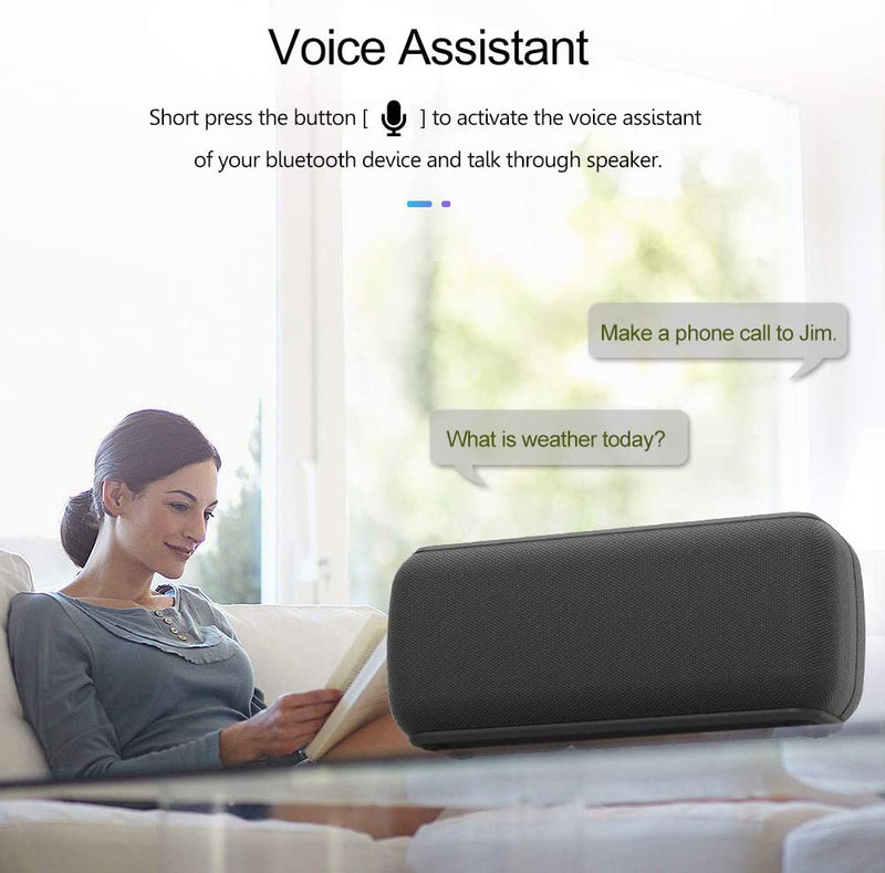 Bluetooth Speaker 60 watts V5.0 Shocking bass Sound TWS Waterproof 8 Hours Playtime Soundbar Home TheaterPortable Bluetooth Speaker - Madshot