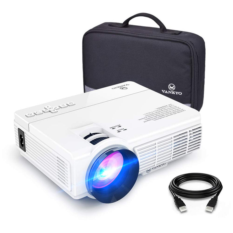 Madshot - Mini Projector - 1080P and 170'' Display Supported, 3600L - Madshot