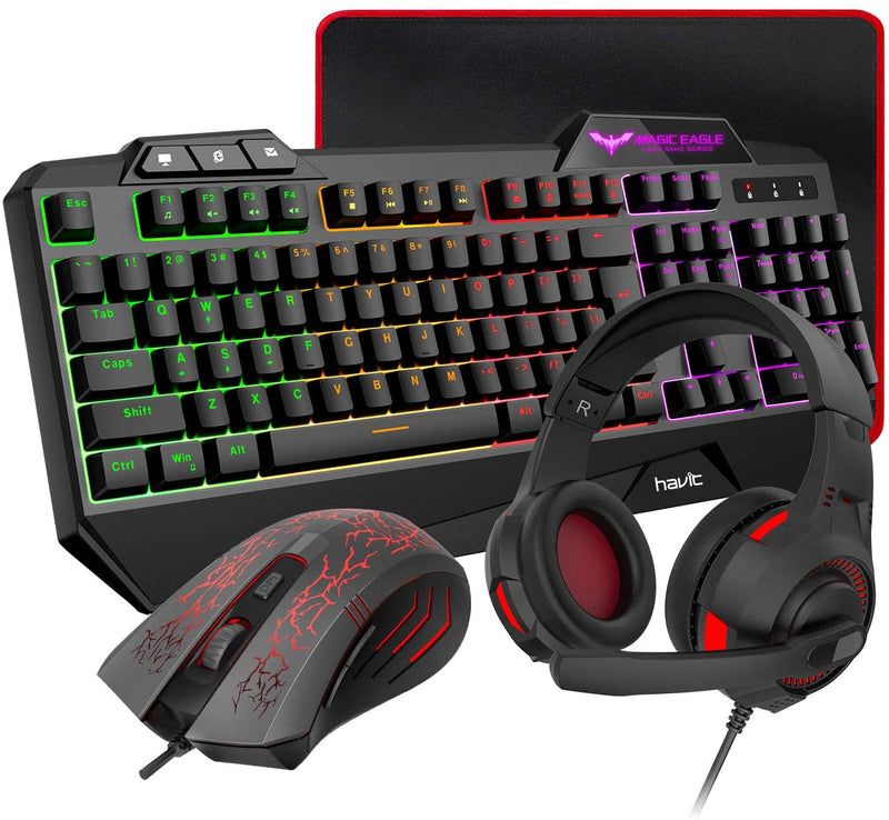 Gaming Keyboard and Mouse, Large Mouse PadGaming Accessories - Madshot