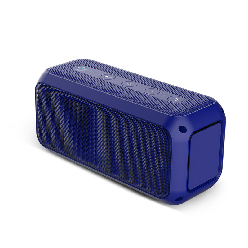 Power Multifunction TWS Bluetooth Trolley Speaker Crystal Clear Stereo Sound, Rich BassPortable Bluetooth Speaker Blue - Madshot