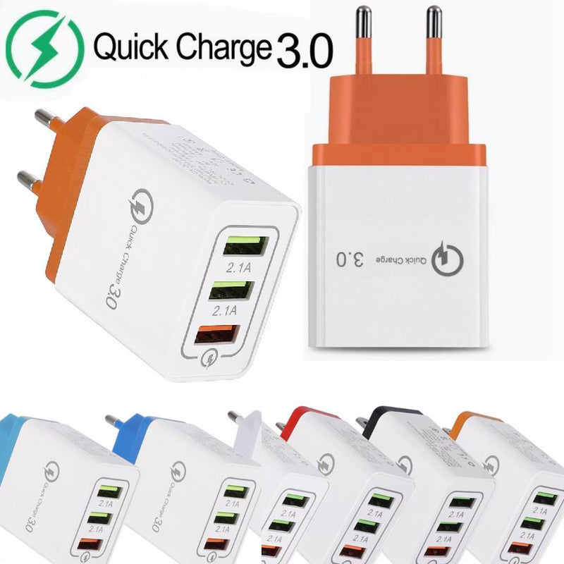 Madshot- Quick Wall Charger Smart QC 3.0 USB Fast Charging 18W AdapterQuick Charge 3.0 - Madshot