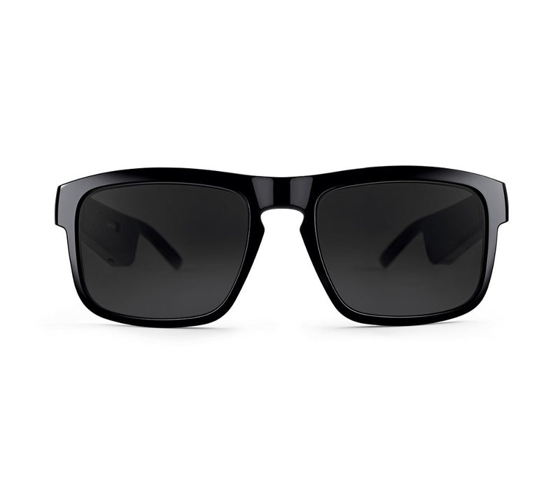 Audio Wireless - Sunglasses with Open Ear Headphones - Frame Jazz M/L , with Bluetooth ConnectivityAudio Bluetooth Sunglasses Black - Madshot