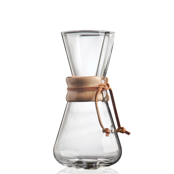 CHEMEX, 3-Cup, filter drip coffee maker