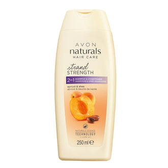 Apricot & Shea Butter 2-in-1 Shampoo & Conditioner - 250ml
