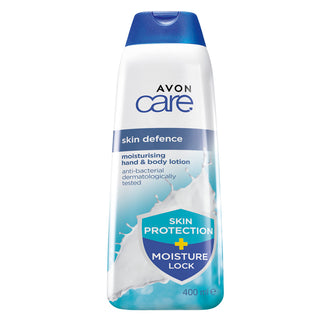 Skin Defence Moisturising Hand & Body Lotion - 400ml