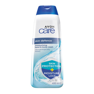 Skin Defence Hand & Body Wash with Anti-Bacterial Technology - 400ml