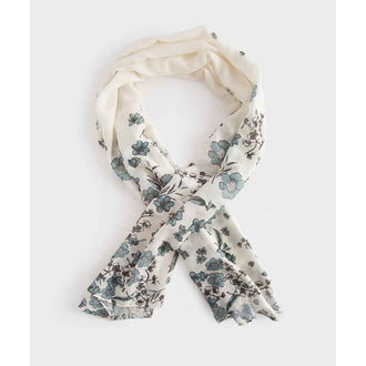 Floral Graduated Scarf