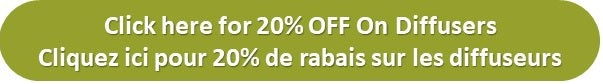 20% OFF on Diffusers