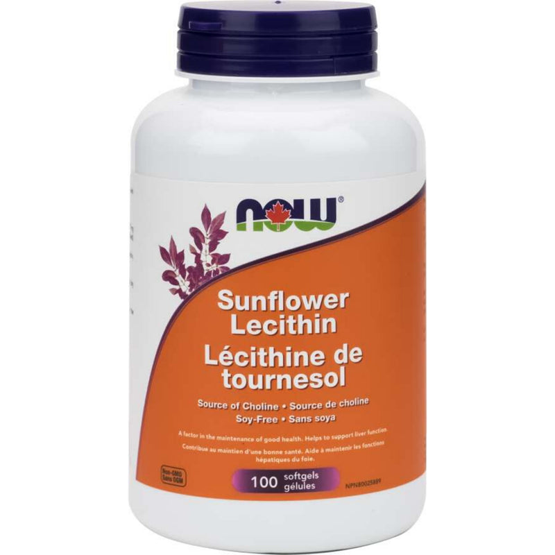 Now Sunflower Lecithin 100sgels
