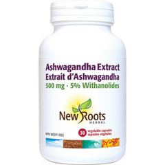 New Roots Extrait d'Ashwagandha 500mg 30vcaps