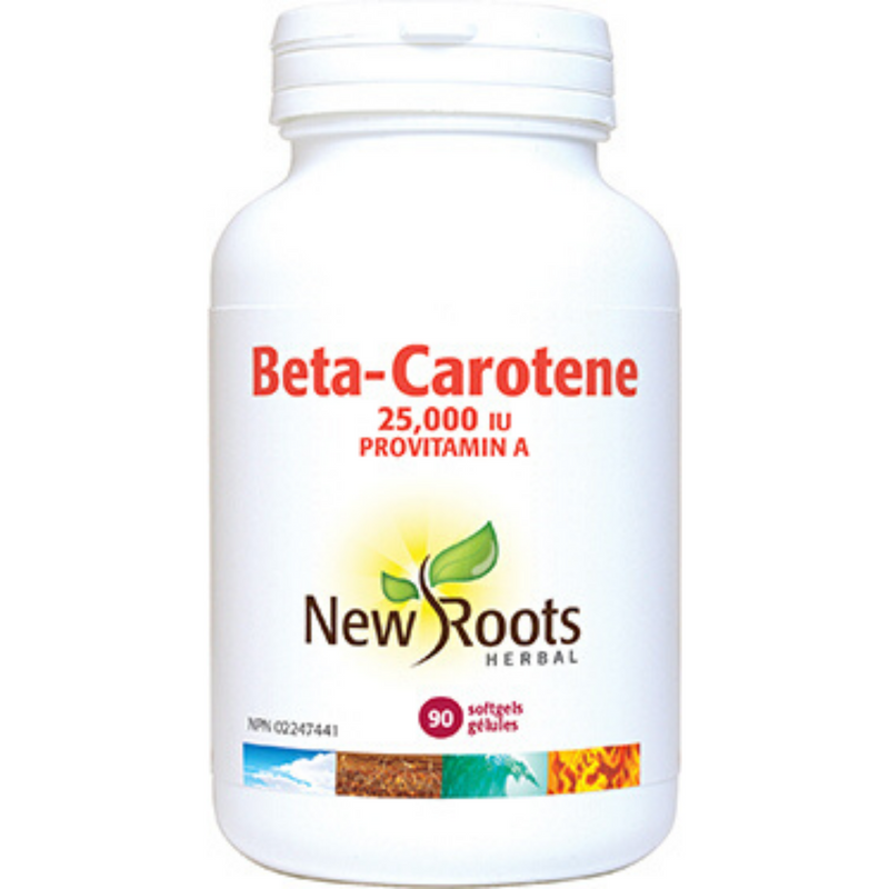 New Roots Beta-Carotene 90gels