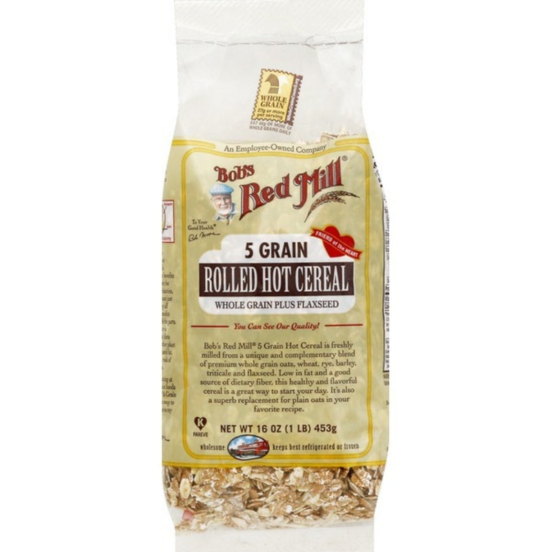Bob's 5 Grain Rolled Hot Cereal 453g