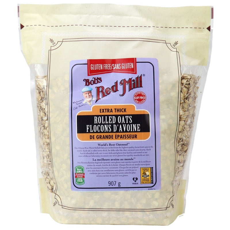 Bob's Gluten Free Extra Thick Rolled Oats 907g