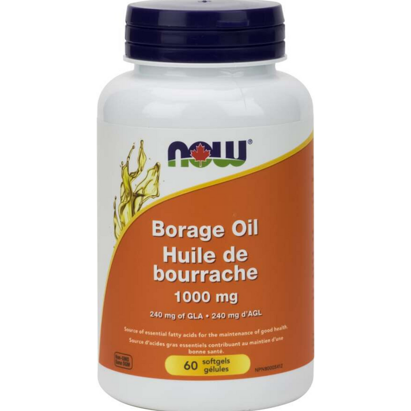 Now Borage Oil 1000mg 60sgel