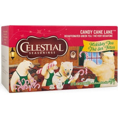 Celestial Seasonings Candy Cane Lane 20 sachets de thé