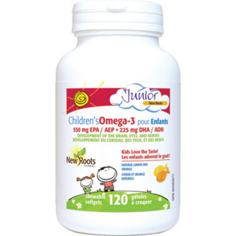 New Roots Childrens Omega-3 120scaps