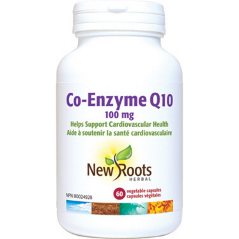 New Roots Co-Enzyme Q10 100mg 60c