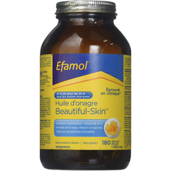 Huile d'onagre Efamol Beautiful Skin 1000mg 180 sgels