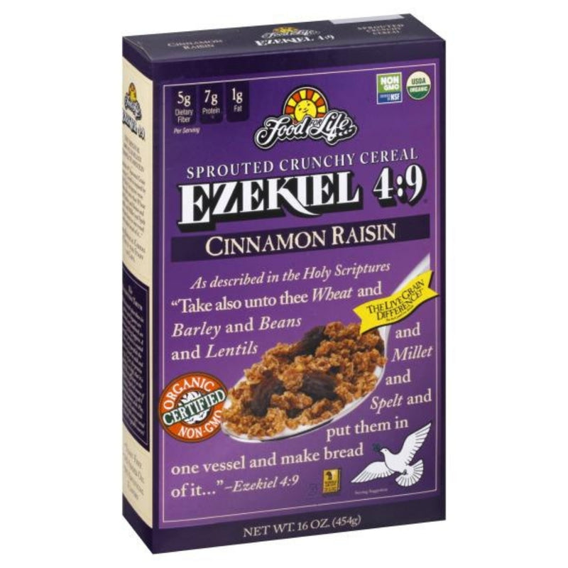 Food For Life Ezekiel 4:9 Cinnamon Raisin 454g