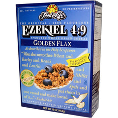 Food For Life Ezekiel 4:9 Golden Flax Cereal 454g