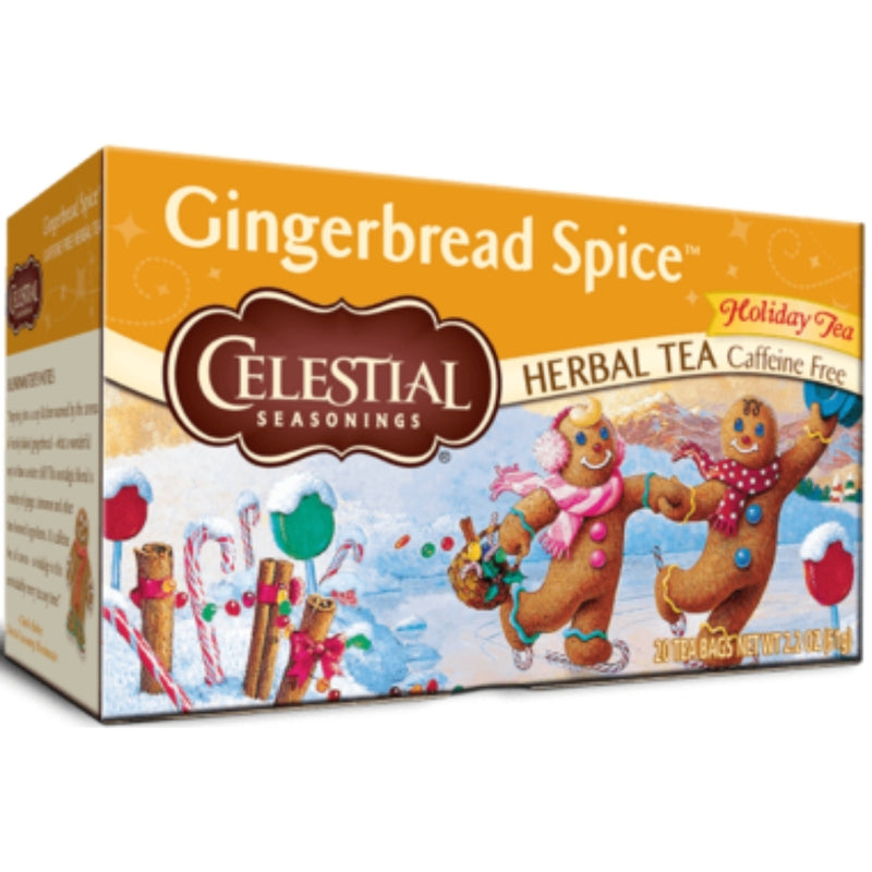 Celestial Seasonings Gingerbread Spice 20 Tea Bags