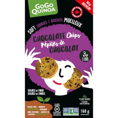 Gogo Quinoa Soft Chocolate Chips Cookies 168g