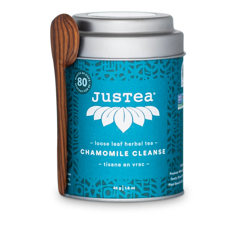 Justea Chamomile Cleanse Loose Leaf Herbal Tea 45g